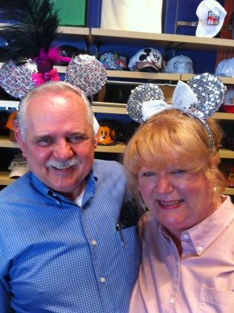 Mikalee's parents channeling their inner Mickey